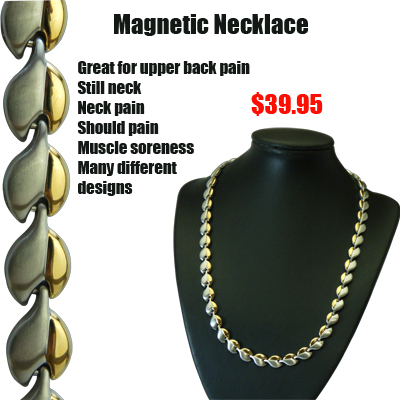 Buy your magnetic therapy bracelets and necklace now