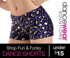 Dance Shorts under $15