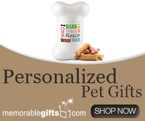 Personalized Pet Gifts - MemorableGifts.com