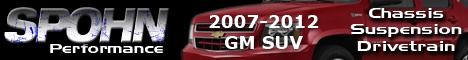 2007-2014 GM SUVs