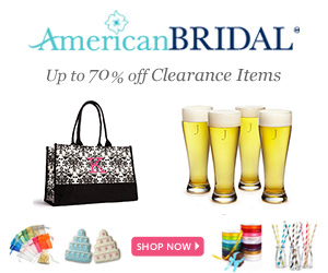 American Bridal website has everything for your wedding day