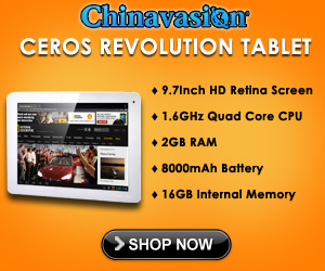 Ceros Android Tablet