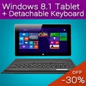 windows 8.1 tablet detachable keyboard