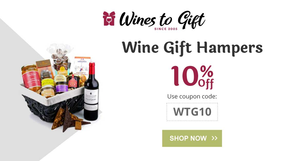 lets celebrate party's more special with our wines and wine hampers