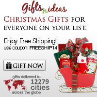 Free shipping for Christmas Gifts..