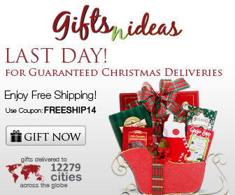 Last Day! For Guaranteed Christmas Deliveries