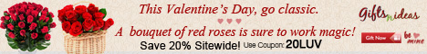 This valentine's Day Go Classic. A Bouquet Of Red Roses Is Sure To Work Magic!