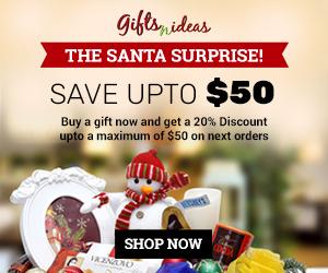 Santa Surprise Gifts in Dec 2016