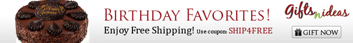 Birthday Favorites! Enjoy free shipping
