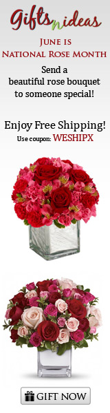 June is the national rose month - Send a beautiful rose bouquet
