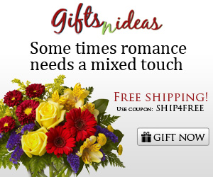 Some times romance needs a mixed touch - enjoy free shipping