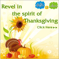 Send Thanksgiving gifts to USA