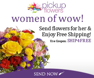 Women of wow! Send flowers for her&Enjoy the free shipping