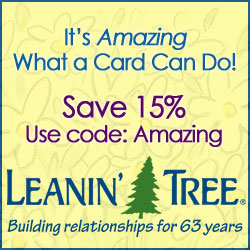 It's amazing what a card can do! Save 15% use code: AMAZING.