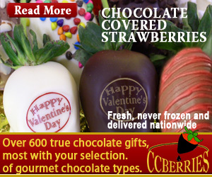 Chocolate covered strawberries for Valentines delivery