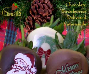 Christmas Chocolate Covered Strawberries Delivered from CCBerries