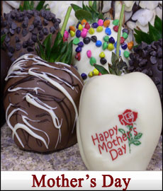 Chocolate Covered Strawberries for Mother's Day from CCBerries shipped nationwide