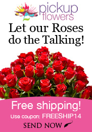 let our roses do the talking