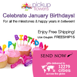 Celebrate January Birthdays!