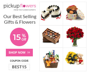 15% Off on Gifts & Flowers