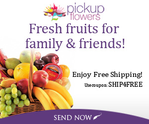 Fresh fruits for family & friends! Enjoy free shipping