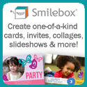 Create one-of-a-kind cards, invites and more with Smilebox.