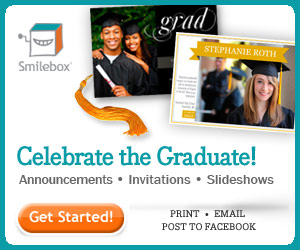 Celebrate the graduate with Smilebox.