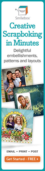 Creative scrapbooking in minutes with Smilebox.