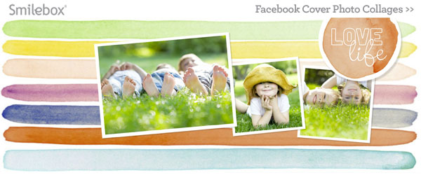 Facebook cover collages from Smilebox.