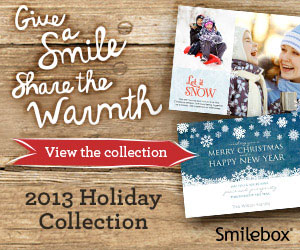 The Smilebox holiday collection includes animated and printable cards, invites, collages and more.
