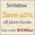Get 40% off photo books from Smilebox.