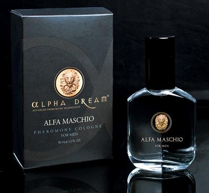 Alfa Maschio pheromone cologne for men with box