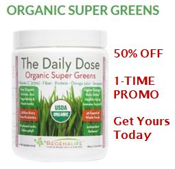 Super Greens 50% OFF PROMO