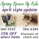 Spring Spruce Up Sale