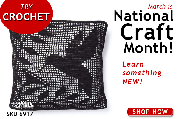 National Craft Month Crochet