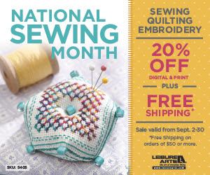 National Sewing Month - Save 2...