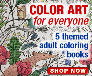 Adult Coloring Books on LeisureArts.com