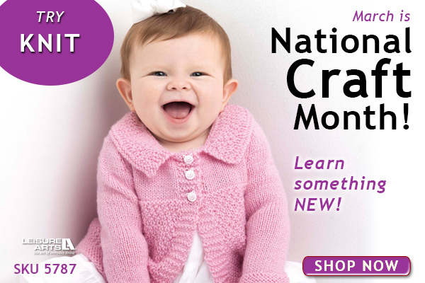 National Craft Month Knitting