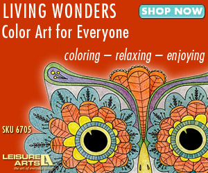 Living Wonders coloring books for adults