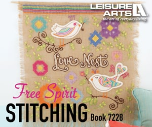 Free Spirit Stitching - 8 Vibrant & Colorful Stitching Adventures