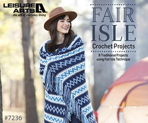 Fair Isle Crochet Projects - 8 Traditional Project