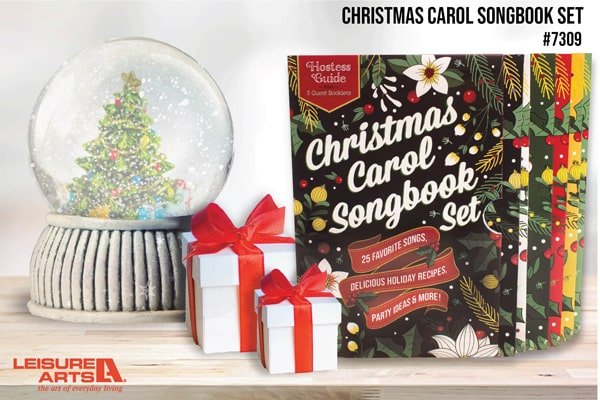 Christmas Carol Set - 25 Favorite Songs, Delicious Holiday Recipes, Party Ideas & More!