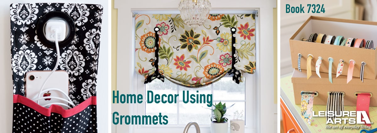 Home Decor Using Grommets