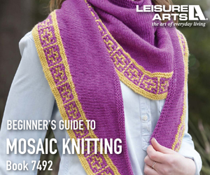 The Beginner's Guide To Mosaic Knitting - Easy One Color Per Row Technique