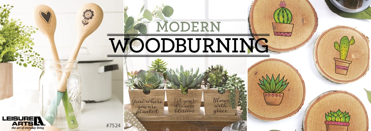 Modern Woodburning - 9 Skill-Building Projects for Learning Pyography