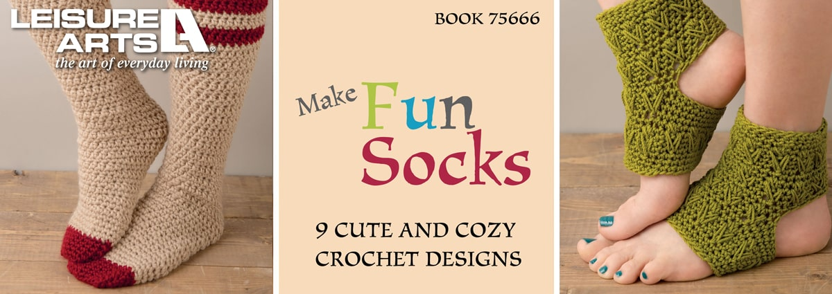 Make Fun Socks – 9 Cute & Cozy Designs to Crochet