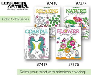 Color Calm Series   Leisure Arts