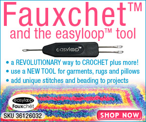 The Easyloop Fauxchet Yarn Tool 300x250