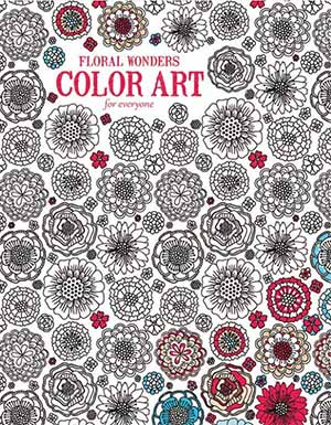 Floral Wonders Adult Coloring Book