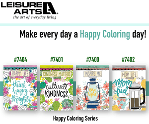 Happy Coloring Series | Leisure Arts